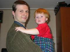 Сергей с дочерью