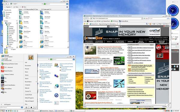 Изменение внешнего вида Windows Vista