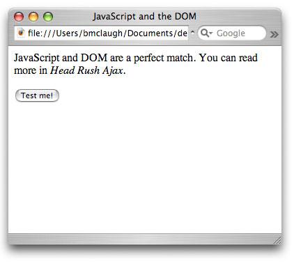 Рисунок 3. Изображения удаляются со страницы в режиме реального времени при помощи JavaScript